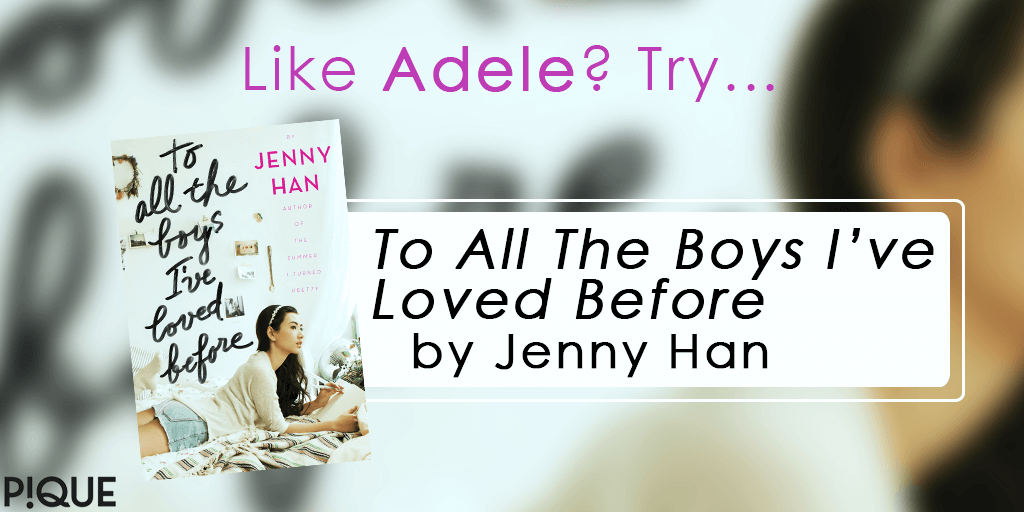 readalike to all the boys i've loved before jenny han