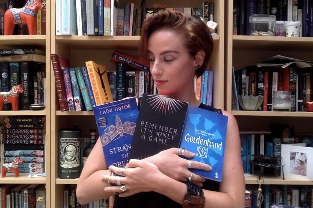 laura even on your bookshelf
