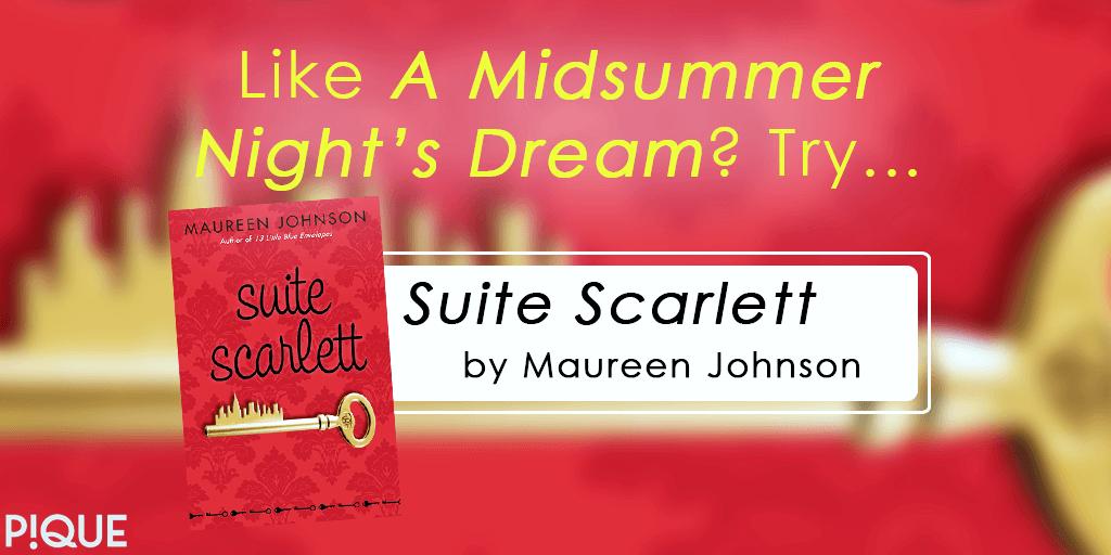 readalike suite scarlett maureen johnson