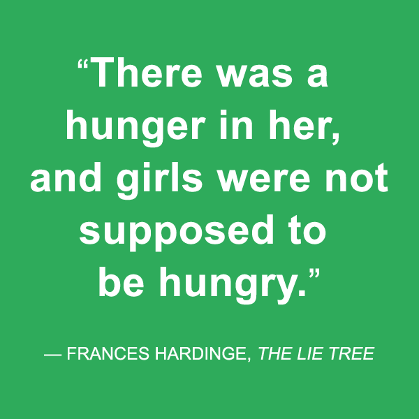 the lie tree frances hardinge quote