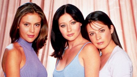 """A promotional shot from """"Charmed."""""""