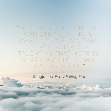 Quote Of The Week EVERY FALLING STAR Pique Pique Gorgeous Star Quotes